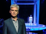 Phillip Schofield hosting The Cube