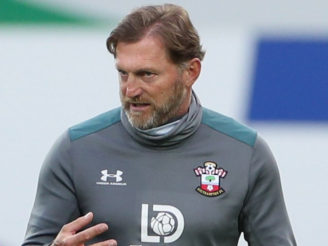 Southampton manager Ralph Hasenhuttl pictured on June 19, 2020