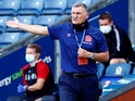 Blackburn Rovers boss Tony Mowbray on June 20, 2020