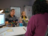 Leanne and Steve learn Oliver's diagnosis on Coronation Street on June 29, 2020