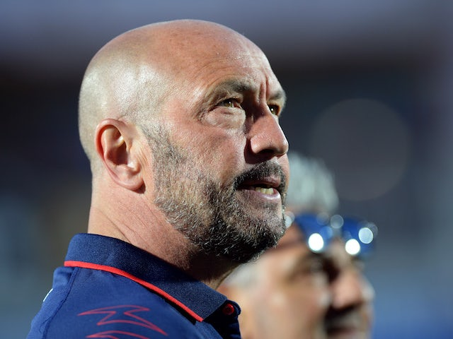 Cagliari boss Walter Zenga pictured in April 2018