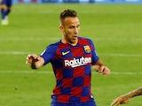 Barcelona midfielder Arthur pictured in June 2020