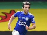 Ben Chilwell in action for Leicester City on June 20, 2020