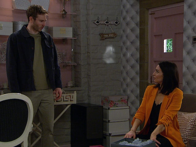 Jamie is furious with Leyla on Emmerdale on July 8, 2020