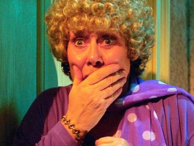 Classic Corrie episode 3,968 - Vera is convinced she's seen Ivy's ghost