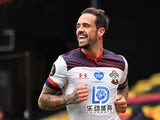 Danny Ings celebrates scoring for Southampton on June 28, 2020