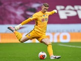 Dean Henderson in action for Sheffield United on June 17, 2020