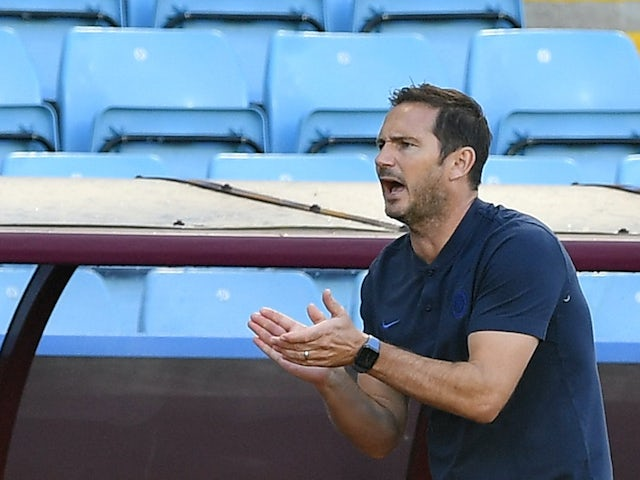Chelsea manager Frank Lampard on June 21, 2020
