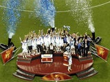 Greece celebrate winning 2004