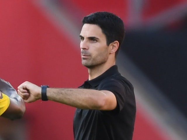 Arsenal manager Mikel Arteta pictured on June 25, 2020