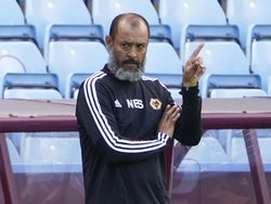Wolverhampton Wanderers manager Nuno Espirito Santo pictured on June 27, 2020
