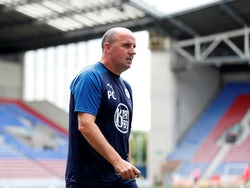 Wigan Athletic manager Paul Cook pictured on June 27, 2020
