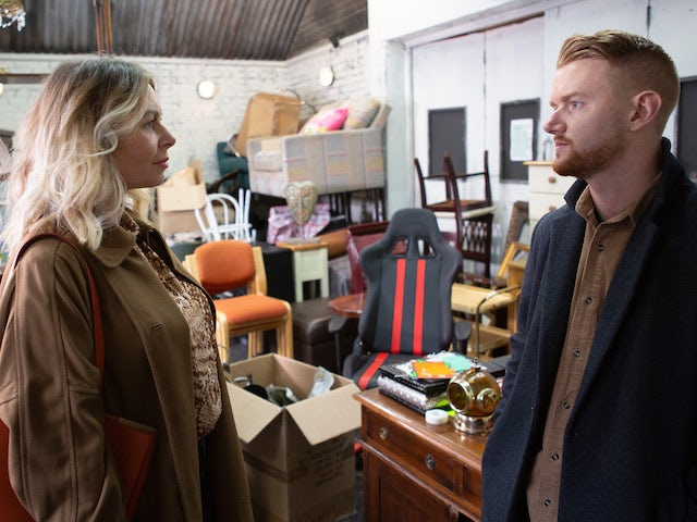 Laura gives Gary an ultimatum on Coronation Street on July 10, 2020