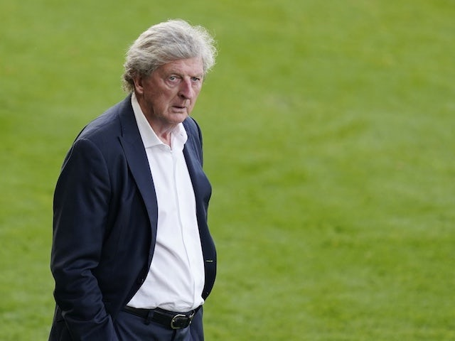 Crystal Palace manager Roy Hodgson pictured in June 2020