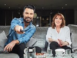 Rylan Clark-Neal and his mother Linda on Celebrity Gogglebox series one
