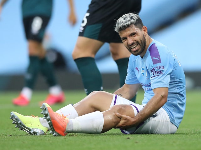 Sergio Aguero to undergo surgery for knee injury