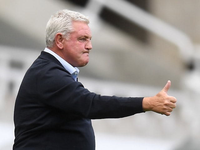 Newcastle United manager Steve Bruce pictured on June 21, 2020