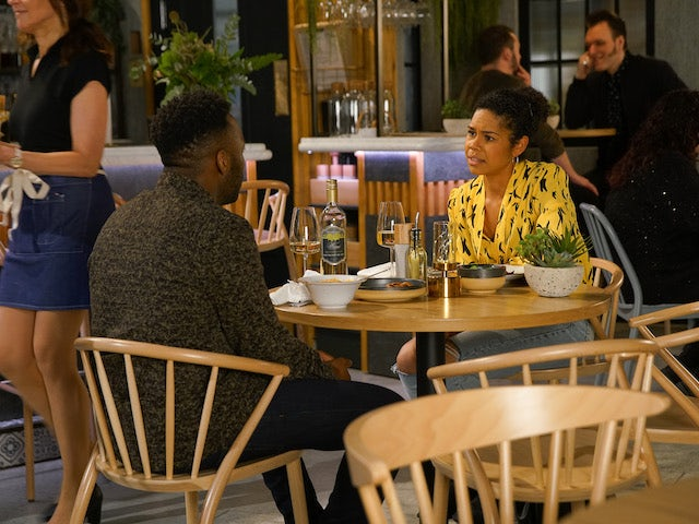 Michael tells Grace they should give things another go on Coronation Street on July 8, 2020