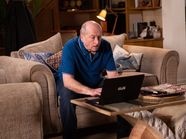 Geoff applies for a prison visit on Coronation Street on July 8, 2020