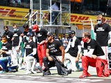 Some F1 drivers take a knee, some stand before Austrian Grand Prix