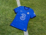 A picture of Chelsea's new shirt for the 2020-21 season