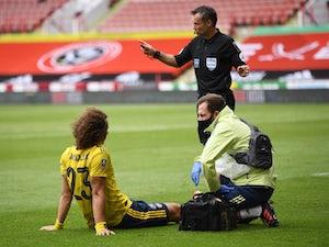 Arsenal injury, suspension list vs. Norwich