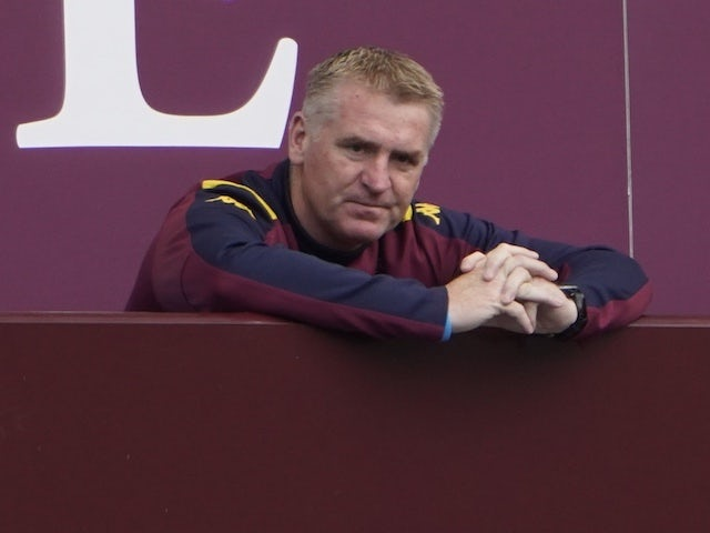 Aston Villa manager Dean Smith pictured on June 27, 2020