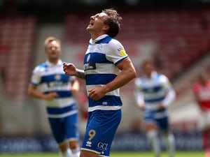 Jordan Hugill fires QPR to victory at hometown club Middlesbrough