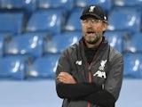 Liverpool manager Jurgen Klopp pictured on July 2, 2020