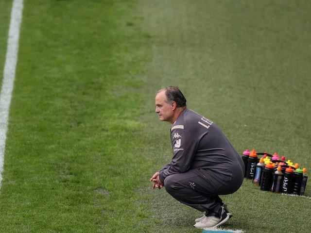 Leeds United manager Marcelo Bielsa pictured on July 4, 2020
