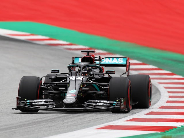 Lewis Hamilton completes clean sweep of Austrian Grand Prix practice sessions