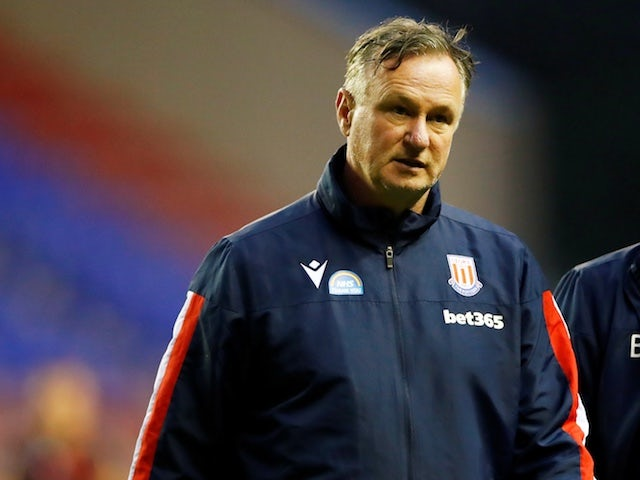 Stoke City boss Michael O'Neill pictured on June 30, 2020