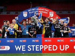 Northampton thrash Exeter in playoff final to earn promotion to League One