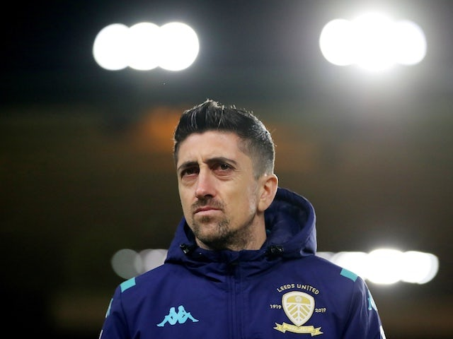 Leeds United's Pablo Hernandez pictured in February 2020
