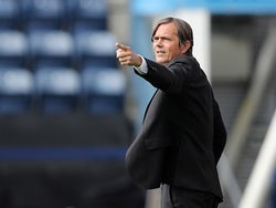 Derby County manager Phillip Cocu pictured