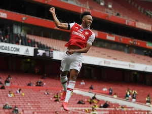 Mikel Arteta hopes Aubameyang will score another 100 goals for Arsenal
