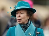 Princess Anne pictured at Cheltenham in March 2019