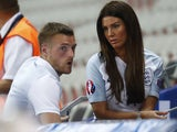 Rebekah Vardy with husband Jamie Vardy in June 2018