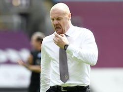 Burnley boss Sean Dyche on July 5, 2020