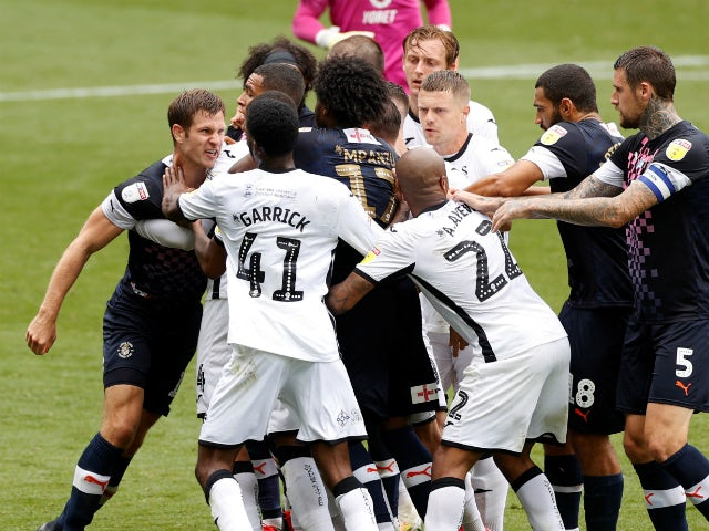 Football Association charge Swansea City and Luton Town over melee