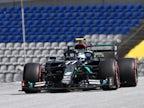 Valtteri Bottas edges out Mercedes teammate Lewis Hamilton to claim pole at Silverstone