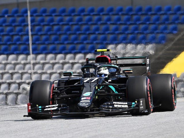 Valtteri Bottas fastest in opening practice for 70th Anniversary Grand Prix