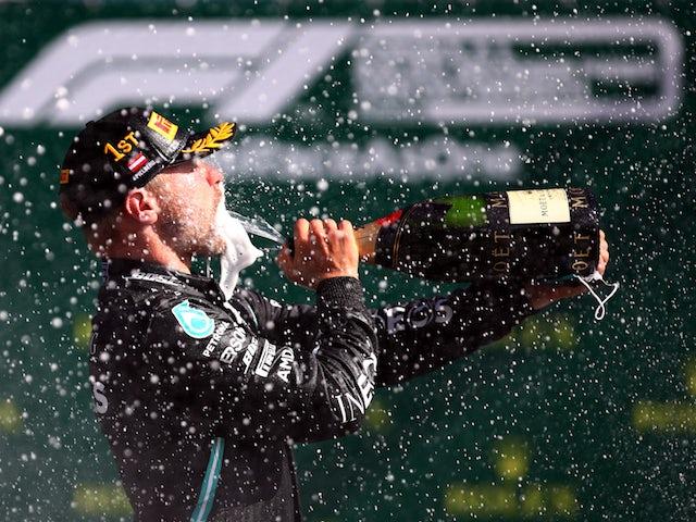 Valtteri Bottas will again drive for Mercedes next season