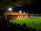 A general shot of the Halliwell Jones Stadium, home of Warrington Wolves