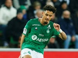 Saint-Etienne defender William Saliba, on loan from Arsenal, pictured in February 2020