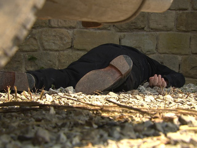 A lifeless body on Emmerdale on July 24, 2020