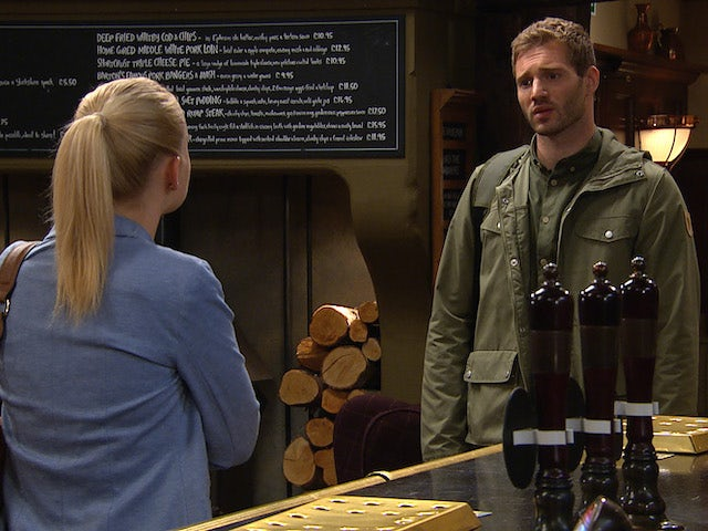 Belle rejects Jamie's offer of a drink on Emmerdale on July 22, 2020