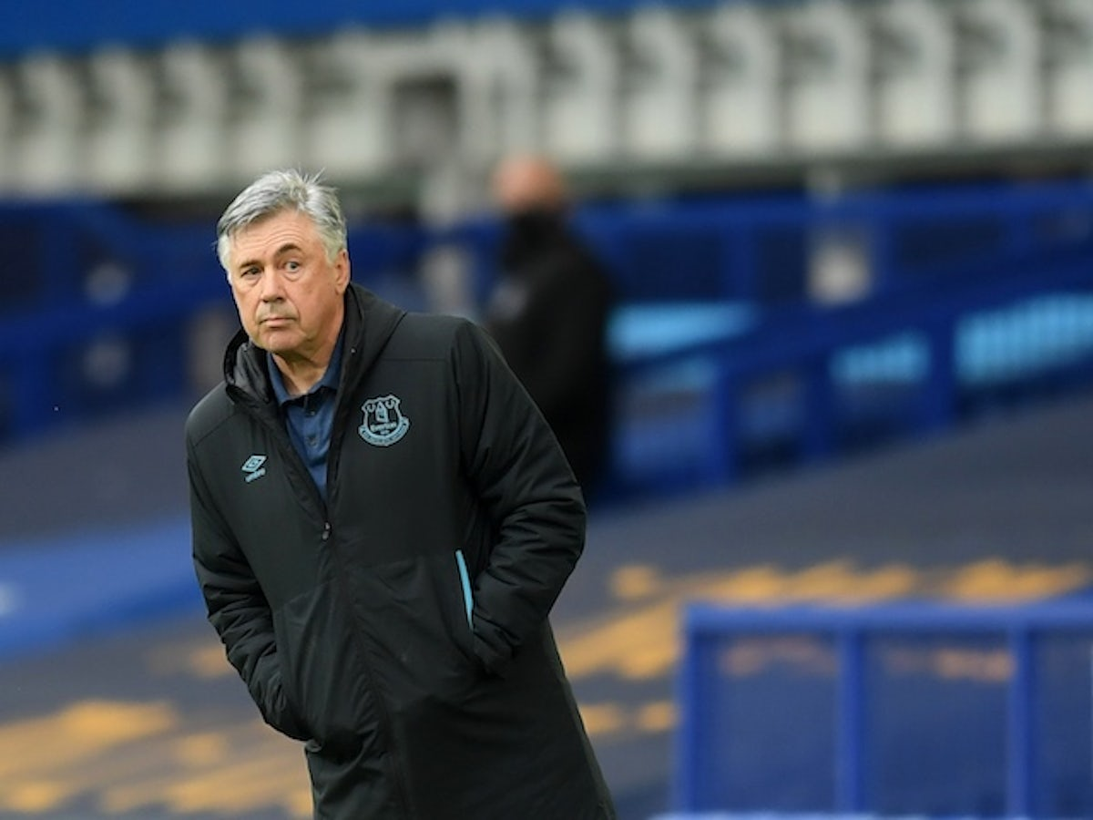 Carlo Ancelotti Everton Youngsters Must Be Patient Sports Mole