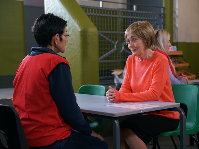 Yasmeen has a visitor on Coronation Street on July 20, 2020