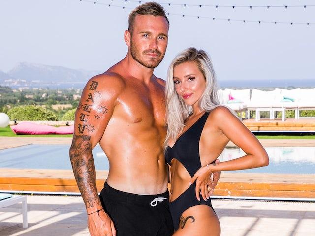 Eden Dally and Erin Barnett on Love Island Australia